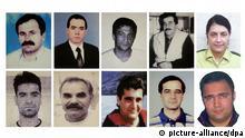 Porträtfotos der zehn Neonazi-Mordopfer, Gedenkveranstaltung