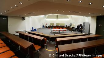 The courtroom where the NSU trial will take place (c) CHRISTOF STACHE/AFP/Getty Images