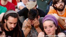 Spanien Protest Demonstration Puerta del Sol Madrid 15-M