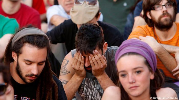 Jugendliche aus Spanien - Javier Lizon (Foto: EPA)
