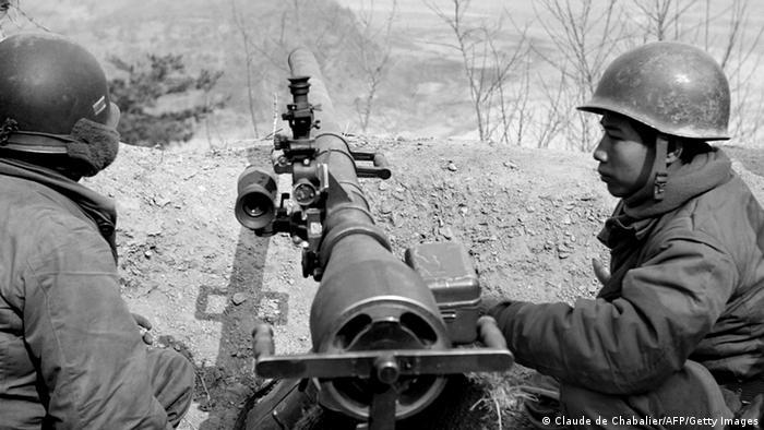 Korea Krieg 1951 südkoreanische Soldaten