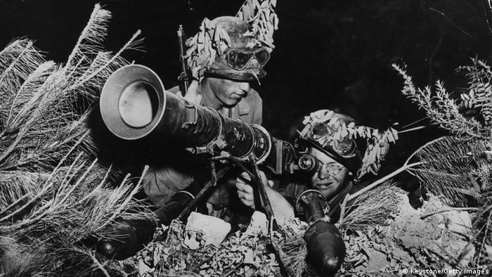 Korea Krieg 1950 US Soldaten