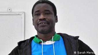 Amadou M'Bow vom Mauretanischen Menschenrechtsverband (Foto: Sarah Mersch)