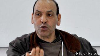 Hassan Boubakri vom Tunesischen Zentrum für Migration und Asyl (Cetuma). (Foto: Sarah Mersch)