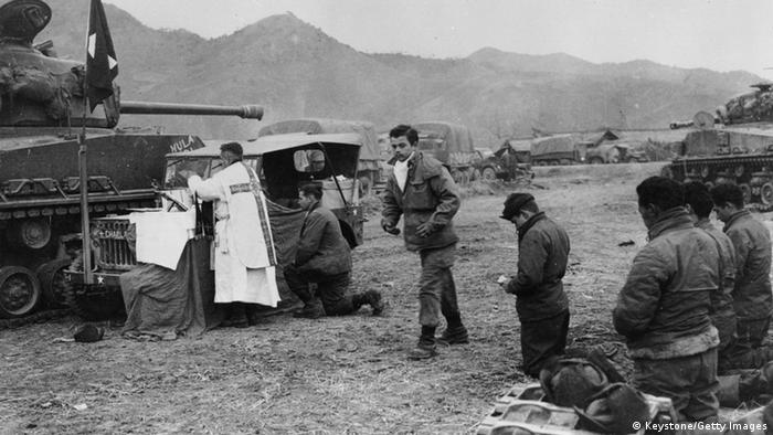 Korea Krieg 1951 Messe (Keystone/Getty Images)