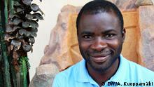 Nana Yaw Ayensu, participant from a DW Akademie workshop in Ghana called Our Radio!. Ayensu ist the manager of the radio channel Nkwa FM. (Photo: DW Akademie/ A. Kuoppamäki).