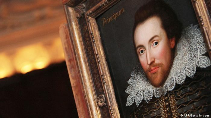 Ein Gemälde von William Shakespeare