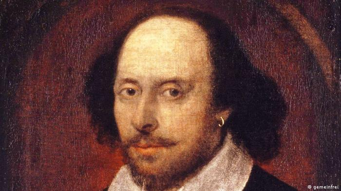William Shakespeare Portrait Bild Gemälde von John Taylor