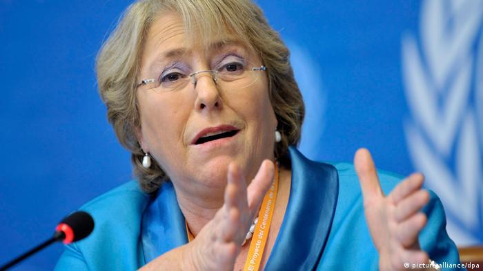 Michelle Bachelet (picture-alliance/dpa)