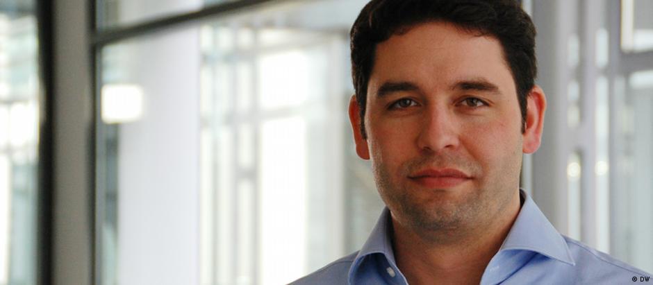 Andreas Sten-Ziemons, redator de esporte da DW