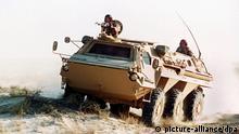 Spürpanzer Fuchs in der saudischen Wüste
