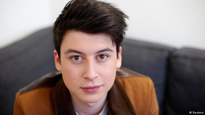 Nick D'Aloisio, aged 17, who developed the smartphone news app Summly (Photo: REUTERS/Suzanne Plunkett)