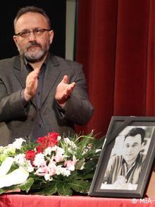 Nikola Mladenov Journalist aus Mazedonien Trauerfeier