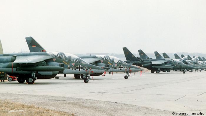 Alpha Jets der Bundeswehr (picture-alliance/dpa)