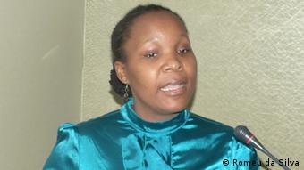 Fatima Membir, representante do Centro de Integridade Pública de Moçambique