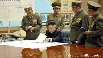 Nordkorea / Kim Jong Un / Militärs