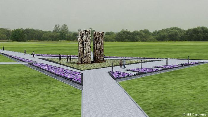 Проект мемориального знака Врата памяти