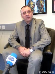 Slobodan Petrovic stellvertretender Premierminister im Kosovo (DW/B.Cani)