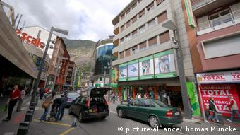 Одна из улиц столицы Андорры