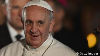 Papst Franziskus in Rom (Foto: AFP/Getty Images)