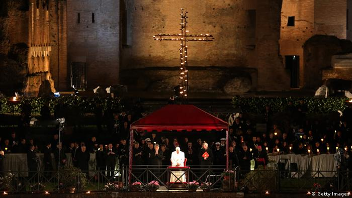 Ostern 2013 in Rom Papst Franziskus (Getty Images)