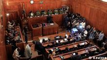 Kenia Supreme Court Gerichtssaal Urteil technische Probleme Wahlergebnis Präsidentschaftswahlen