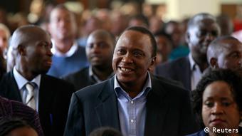 Vor dem Strafgerichtshof angeklagt: Kenias Präsident Kenyatta (Foto: Reuters)