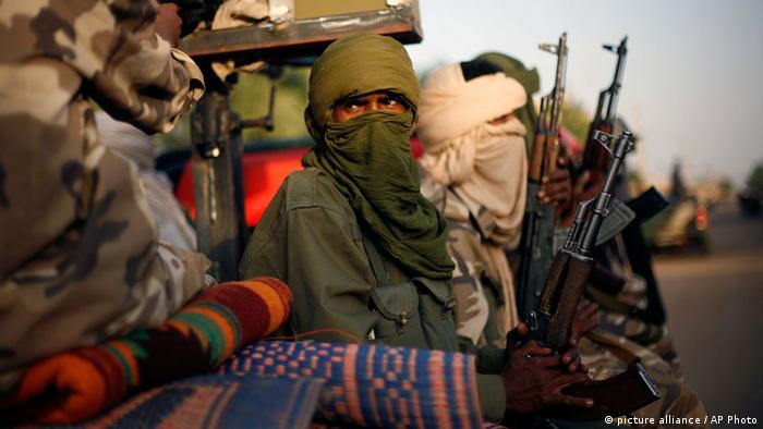 Tuareg fighters in Mali
