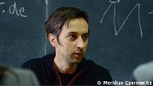 Auf dem Bild: Ron Winkler in Czernowitz, Ukraine als Literatur-Stipendiat des ukrainischen Programms Meridian Czernowitz. Rechte: Meridian Czernowitz Angeliefert von : Khrystyna Nikolaychuk am 31.3.2013