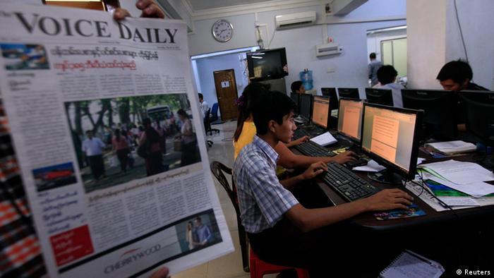 Birma erlaubt erstmals seit Jahrzehnten private Tageszeitungen