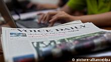 Myanmar Tageszeitung The Voice