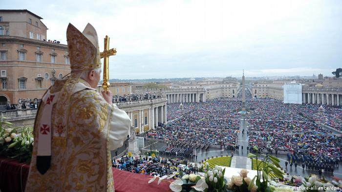 پاپ فرانسیس در مراسم عید پاک
