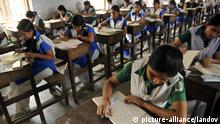 DHAKA, Feb. 15, 2009 (Xinhua) -- Students take part in the exam of Secondary School Certificate (SSC) in Dhaka, capital of Bangladesh, on Feb. 15, 2009. A total of 106,3484 students across the country took the SSC on Sunday, a public examination for students who successfully complete at least ten years of schooling. Xinhua /Landov