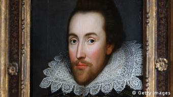 Porträt-Gemälde von William Shakespeare, Foto by Oli Scarff/Getty Images