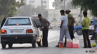 Iran Schmuggel von Diesel