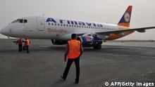 Fluuzeug der armenischen Fluggesellschaft Armavia