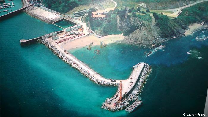 Wellenkraftwerk in Spanien