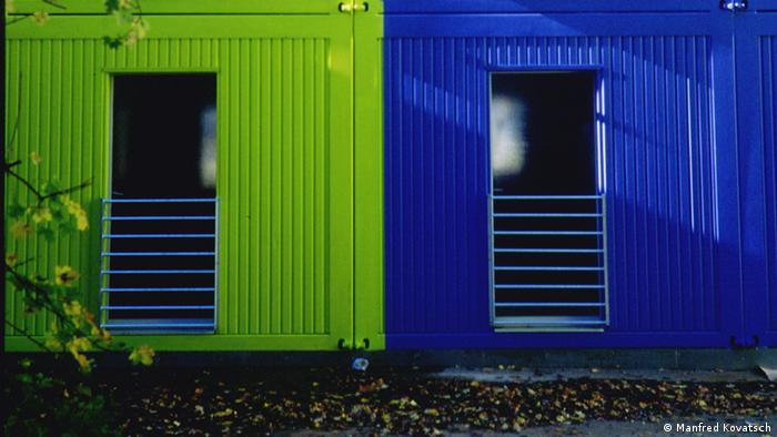 Wohncontainer Fotocredit: Prof. Manfred Kovatsch.