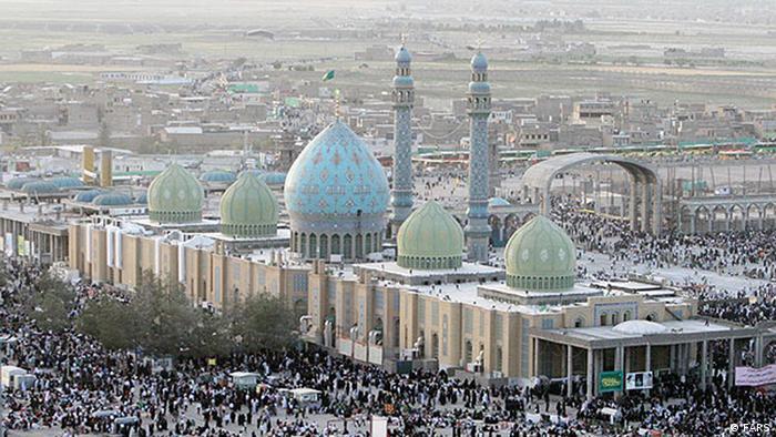 مسجد جمکران در نیمه شعبان