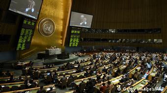 UNO Vollversammlung 2. April 2013