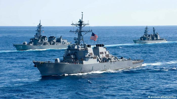 USA Zerstörer USS John McCain