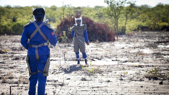 Atividade em Moçambique