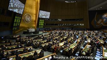 Plenarsitzung der UN-Vollversammlung (Foto: AFP)