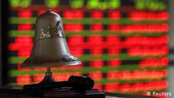 Колокол на каирской фондовой бирже