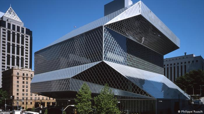 The Seattle Central Library pictured in 2004