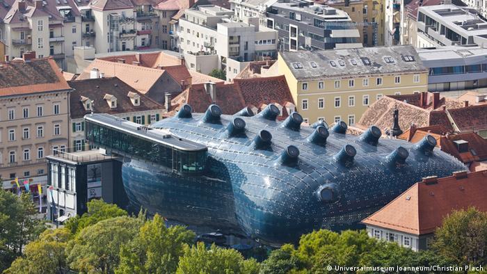 The Kunsthaus Graz in Austria, pictured in 2003