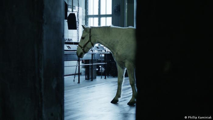 A still from the short film After Hours by Phillip Kaminiak and Steffen Köhn