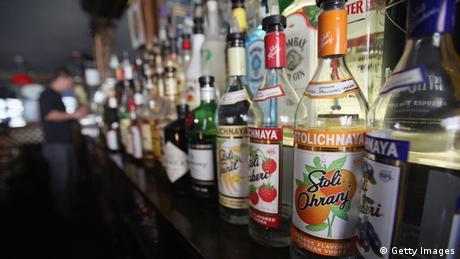 Symbolbild Alkoholsucht