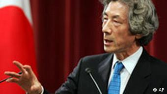 Japans Premier Junichiro Koizumi neuwahlen in Japan Post Reform