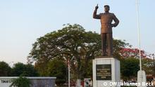 Statue Samora Machel in Chimoio